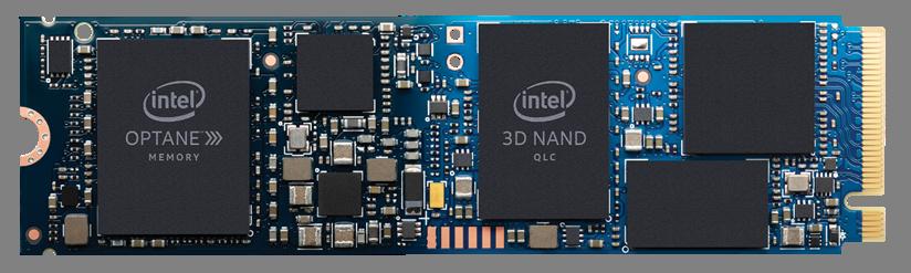 Intel Optane Speicher mit H10 Solid-State-Datenspeicher