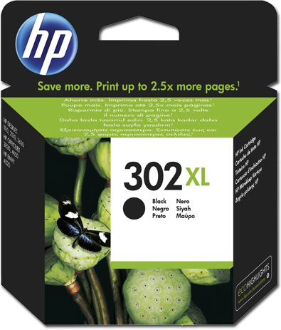 HP Tinte 302 Black XL Cash Back
