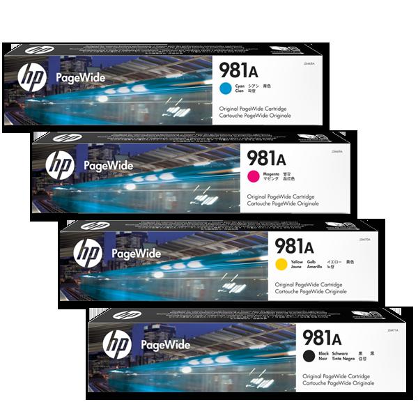 Druckerpatronen für HP PageWide Enterprise Color MFP 586dn